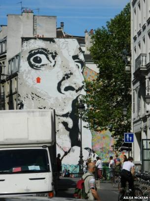 Parisian mural