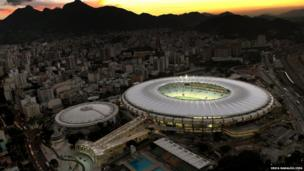 Maracana stadium, Rio