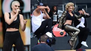 Jessie J and Rita Ora