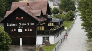 Austrian village of Stein-Krems on 4 June 2013