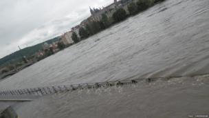 Prague floods. Photo: Paul Cunningham