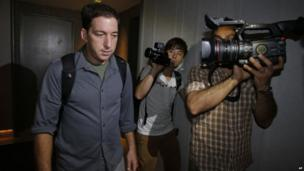 Guardian journalist Glenn Greenwald in Hong Kong after interviewing US whistleblower Ed Snowden, 10 June 2013