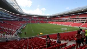 Recife, Pernambuco Arena,