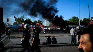 Taksim Square, Istanbul, 11 June 2013