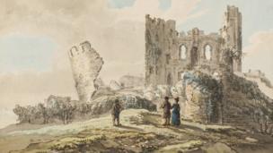 Caerphilly Castle by John Inigo Richards