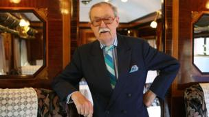 Alan Whicker in 2009