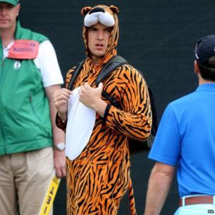 Tiger Woods fan
