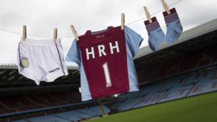 royal baby Aston Villa kit