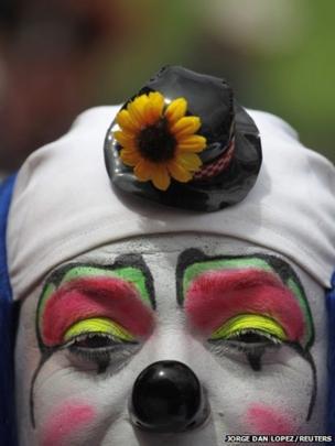 Clown in Guatemala City