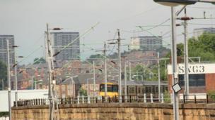 Train in Glasgow