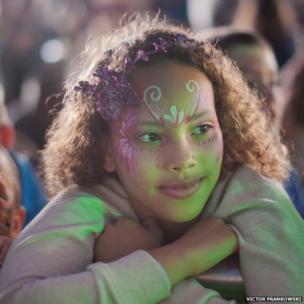 Girl at Camp Bestival