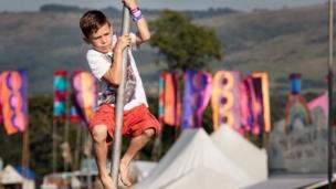 Boy at Camp Bestival