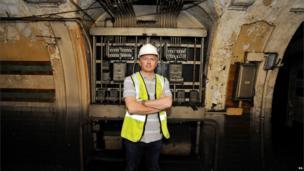 Ministry of Defence property surveyor Julian Chafer