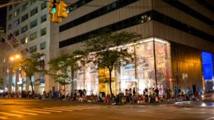 One Direction fans camp overnight outside the NBC studios in New York.