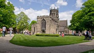 St Mary's Church, Stafford