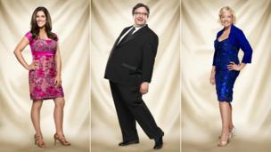 Susannah Reid, Mark Benton and Deborah Meaden