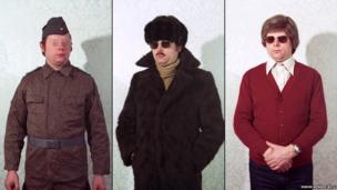 Disguises of Stasi agents