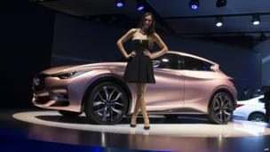 Nissan Infiniti Q30 concept car