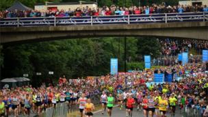 Great North Run 2013