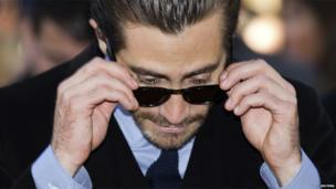 Actor Jake Gyllenhaal arrives for the Enemy screening