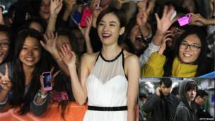 Actress Han Hyo-joo attends the Cold Eyes premiere