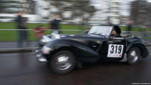 Monte Carlo Classic rally in Glasgow