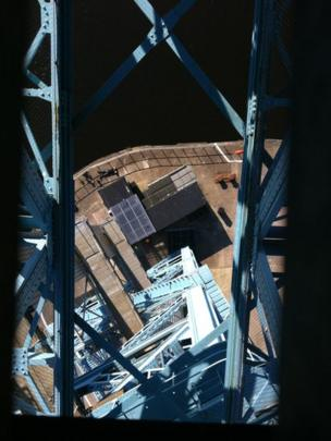View from the Titan Crane