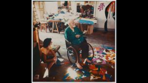 Matisse in his studio