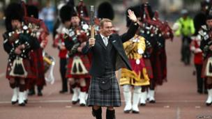 Glasgow 2014 ambassador Sir Chris Hoy