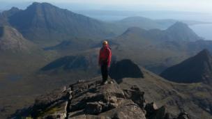 Summit of Sgur nan Gillean