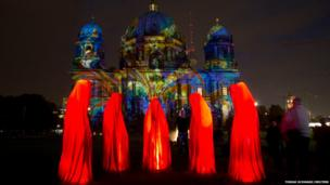 Illuminations at Berlin Cathedral