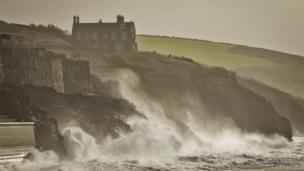 Coast at Porthleven