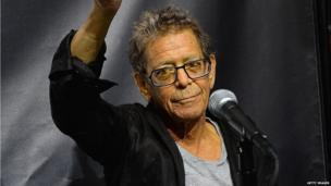 Lou Reed in New York in October 2013