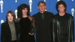 The Velvet Underground at the Rock 'n' Roll Hall of Fame in 1996