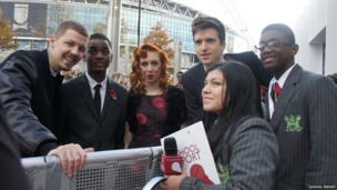 It wasn't just a big day for us - it was a new experience for 2013 Teen Heroes Jeremiah and Khloe who were nominated as special guests. We bonded with Professor Green who also comes from Hackney, he advised us to avoid all the distractions around us, and told us to never let anyone tell you cannot achieve your dreams. Jeremiah was also very inspiring as he described how much his mother had influenced him to take action when he was growing up.