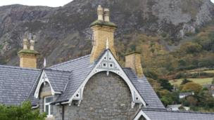 St Seiriol's gable end