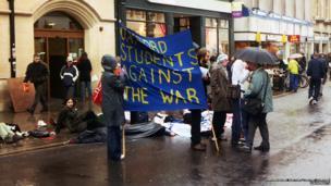 Oxford student demonstration, 2003