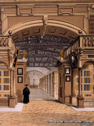 The Bodleian Library, Oxford, 1840-60