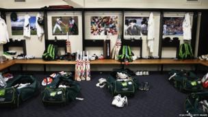 Inside the Australian Cricket Team Dressing Room
