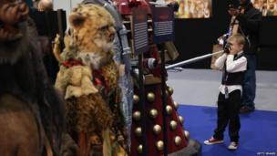 Fan meets Dalek