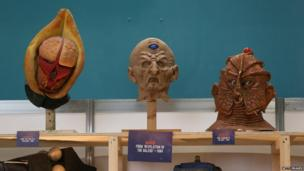 Doctor Who monster masks