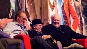 Peter Davison, Sylvester McCoy and Colin Baker