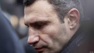 Vitali Klitschko, Kiev, Ukraine, 25 Nov