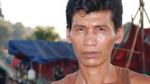 Oil driller Tin Maung Win