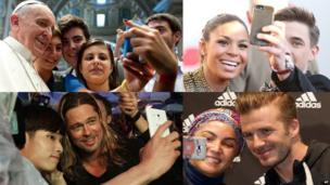 Famous selfies of the Pope, David Beckham, Brad Pitt and Jordin Sparks