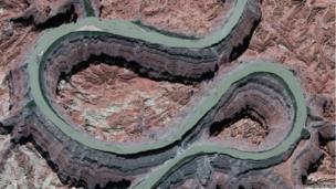 The Colorado River in Utah, USA