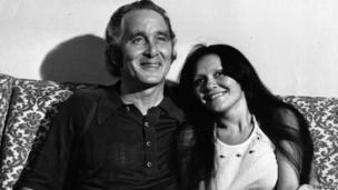 Biggs, with his Brazilian girlfriend Raimunda Nascimento de Castro