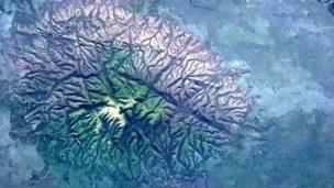 Rock outcrop in Brazil