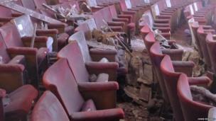 Debris on seats