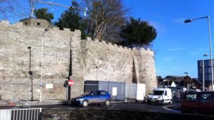 Cardigan Castle exterior